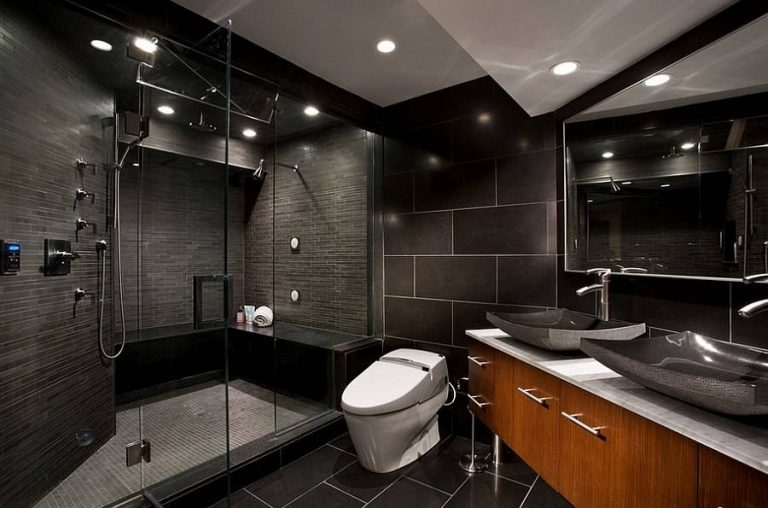Black Bathrooms And Toilet Accessories