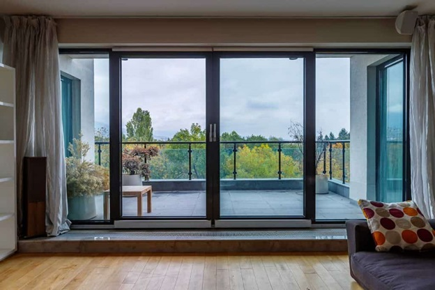 Why do you need to use a magnetic door screen inside your house?